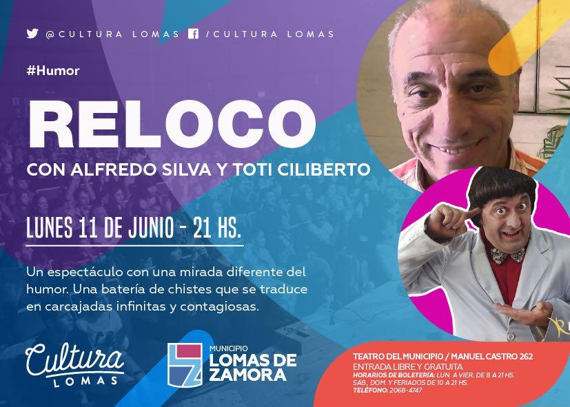 LLEGA EL SHOW «RELOCO» AL TEATRO DEL MUNICIPIO