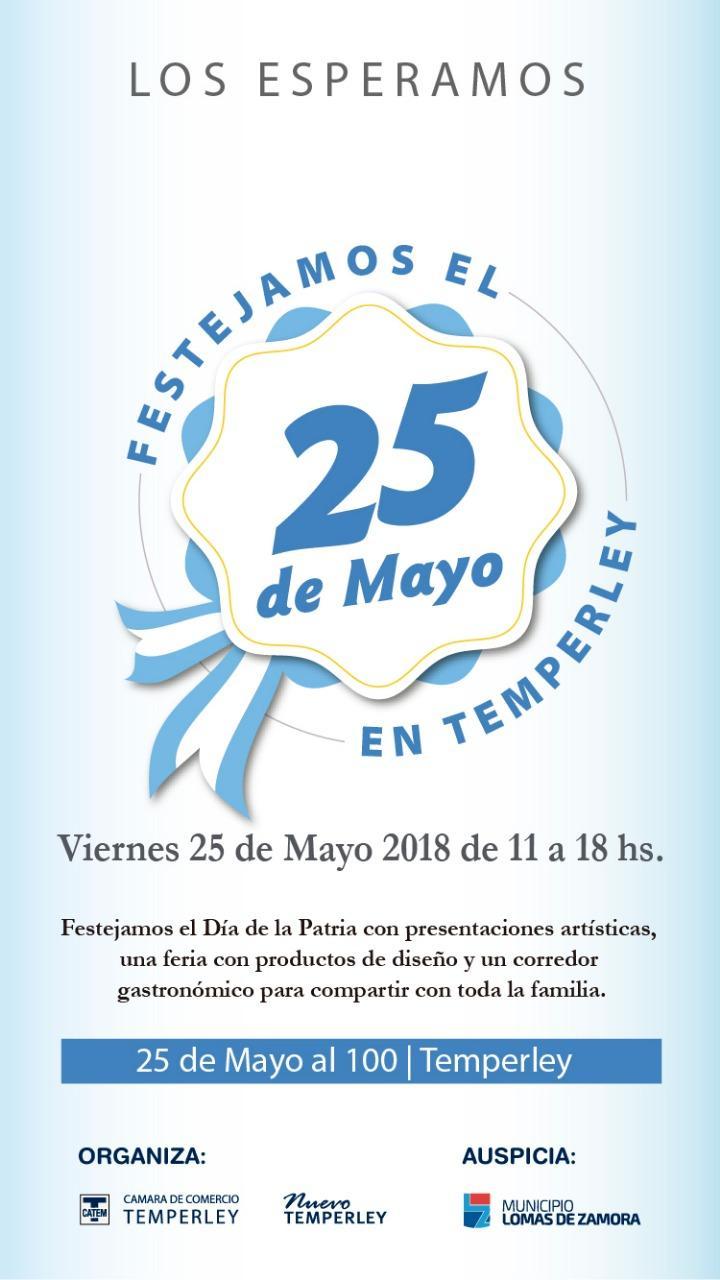 CELEBRACIÓN DEL 25 DE MAYO EN TEMPERLEY