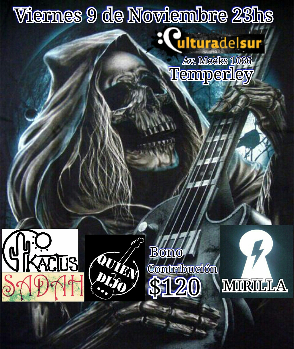 FESTIVAL DE ROCK EN CULTURA ROCK