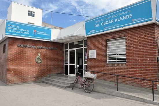 RECORRIDA POR EL HOSPITAL ALENDE