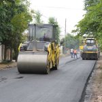 Avanzan las obras de asfalto