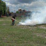 Hantavirus desratizan los barrios de Lomas (1)