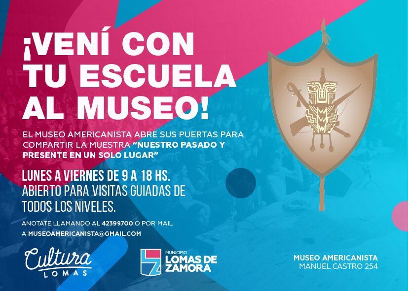 SIGUEN LAS VISITAS AL MUSEO AMERICANISTA