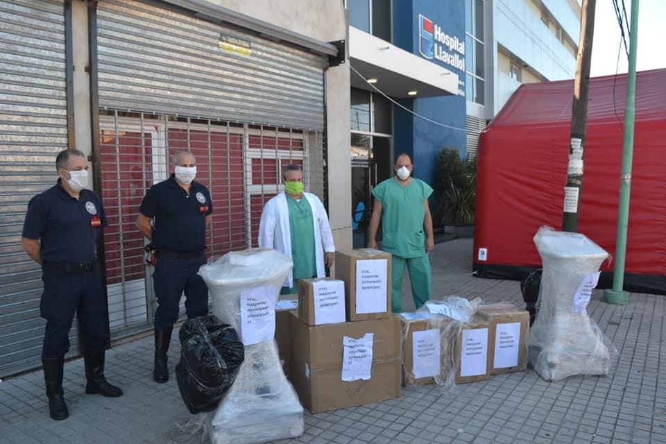 EL HOSPITAL DE LLAVALLOL RECIBIÓ MÁS EQUIPAMIENTO