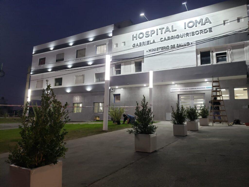 EL HOSPITAL DE IOMA EN TEMPERLEY YA FUNCIONA